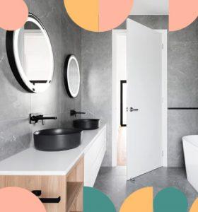 Colores neutros son ideales para hacer contraste en una obra de interiorismo.