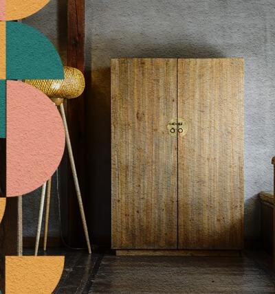 Embellece las piezas antiguas y hazlas parte de tu decoración