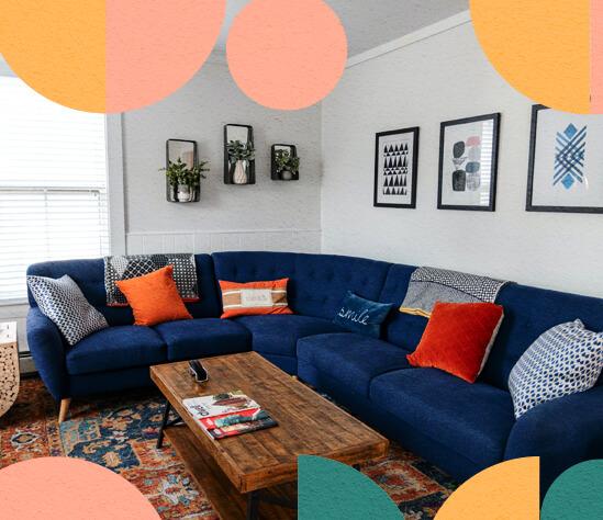 Los colores son parte de la personalidad de tu hogar. ¡Descubrecómo usarlos en un proyecto deinteriorismo!