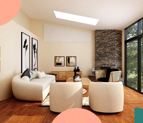 ¿Más amplio o más reducido? ¡Descubre cómo el interiorismo interviene en la iluminaciónde tu hogar!