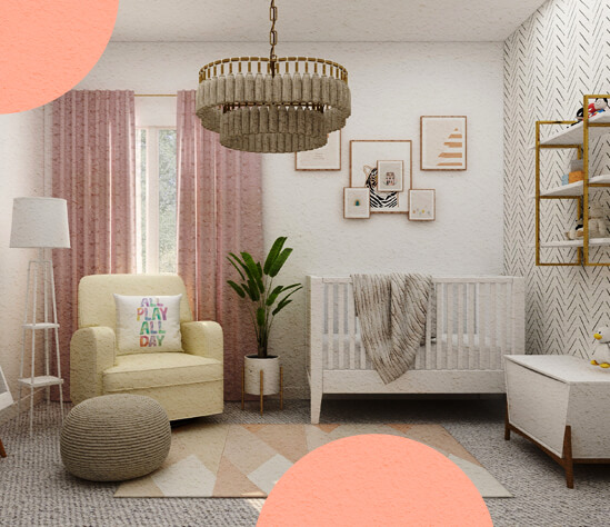 ¿Cómo reformar la habitación para un bebé? ¡Sorprende a la cigüeña!