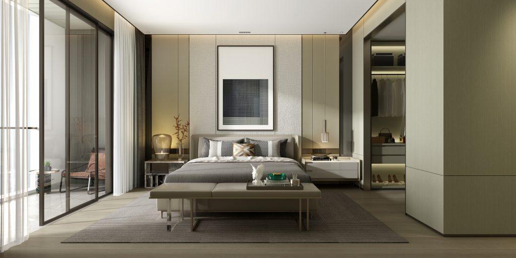 La armonía entre el mobiliario y el estilo hacen una decoración de interiores auténtica
